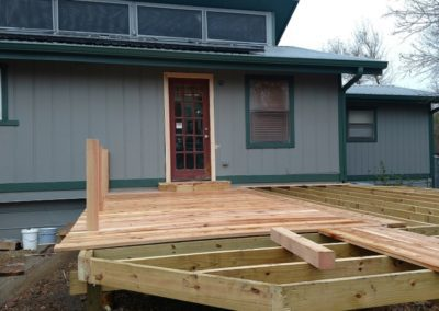 deck being built in Austin - image 8
