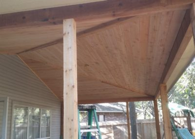 custom patio cover after image