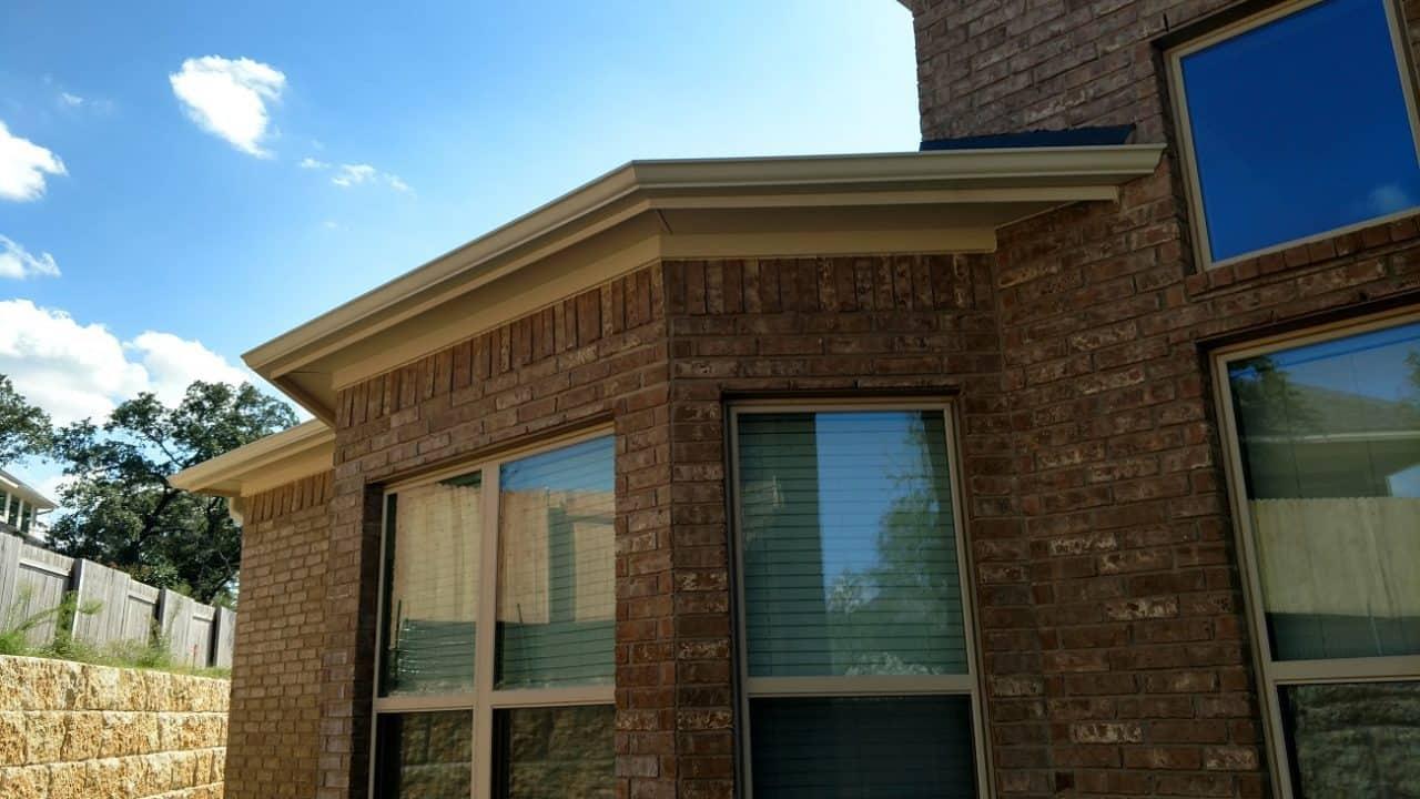 Residential Rain Gutters Lone Star Custom Gutter Amp Exterior