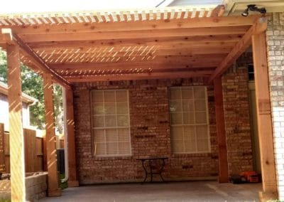 Custom Pergola Builders in Austin TX