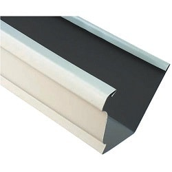 Aluminum rain gutters